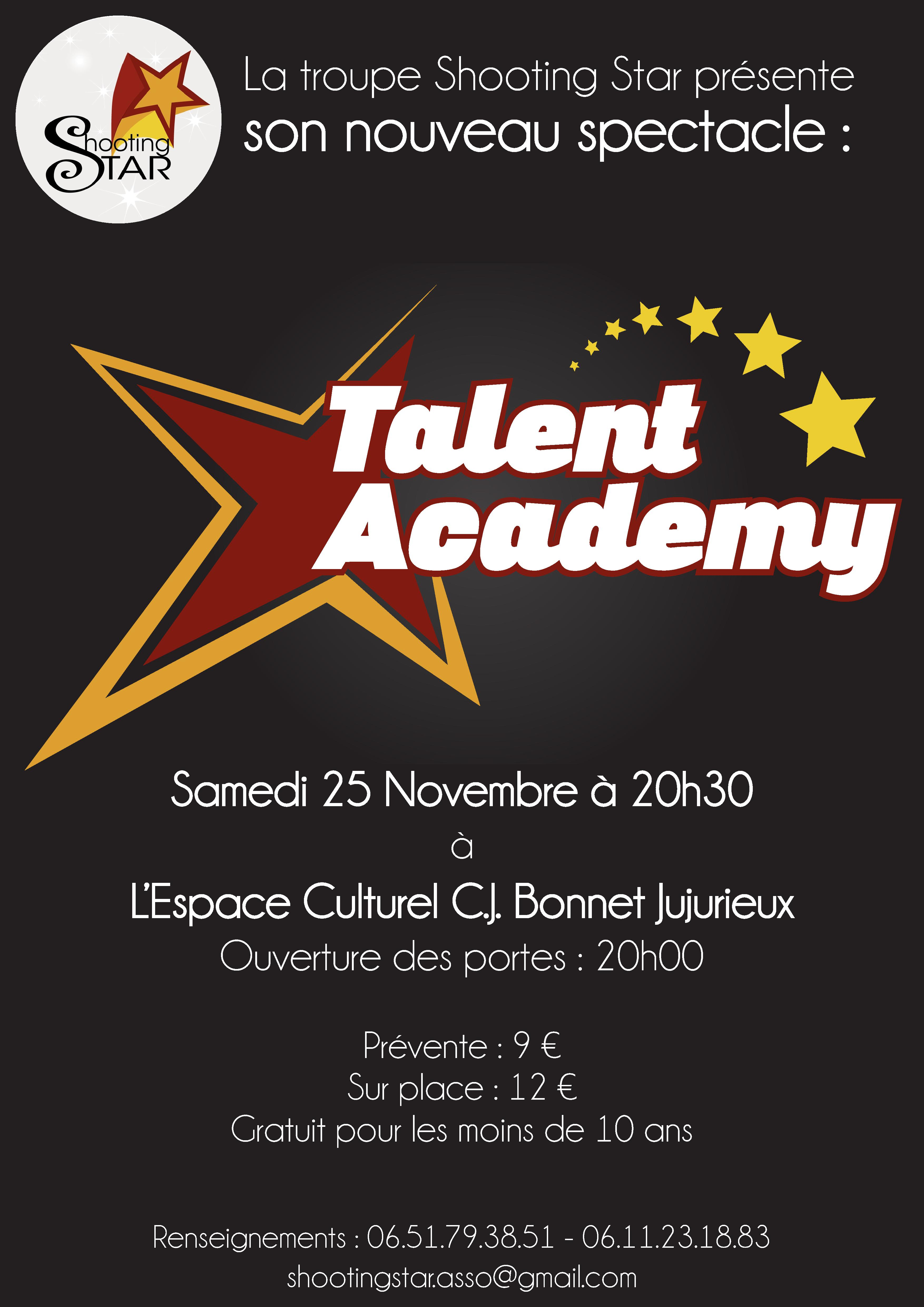 Affiche Talent Academy